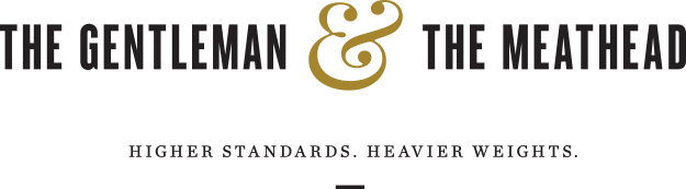 Gentleman and Meathead Wordmark